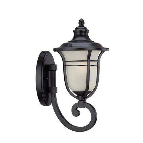 Montclair Matte Black One Light Wall Lantern Fixture