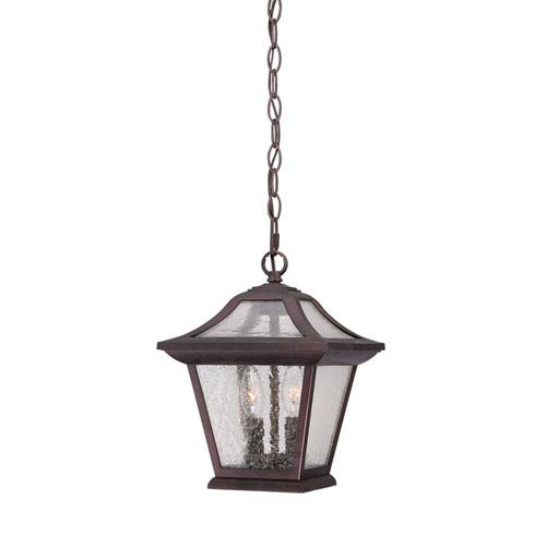 Acclaim Lighting Aiken Architectural Bronze Two-Light Outdoor Pendant