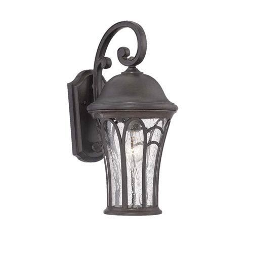 Acclaim Lighting Highgate Black Coral One-Light Outdoor Wall Mount