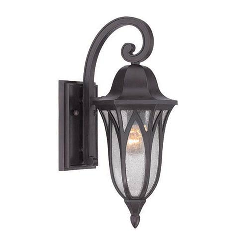 Milano Oil Rubbed Bronze One-Light Outdoor Wall Mount