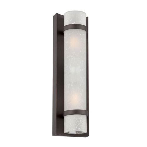 Acclaim Lighting Apollo Architectural Bronze Two-Light Outdoor Wall Mount