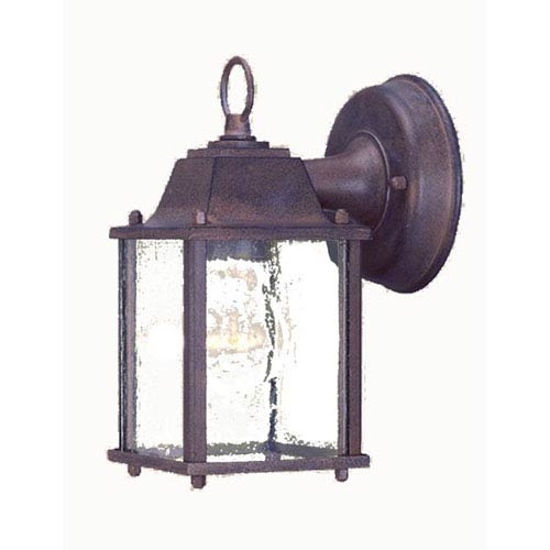 Builders Choice Burled Walnut One-Light Wall Lantern