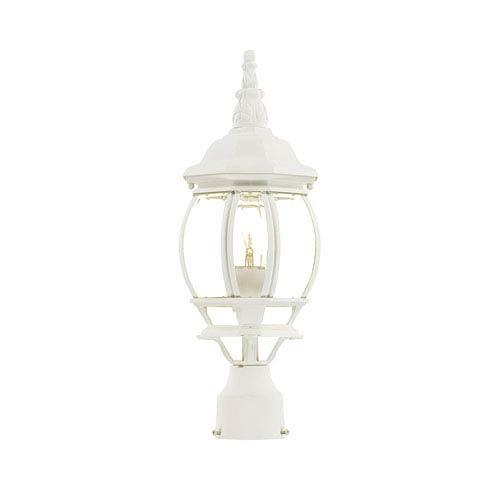 Acclaim Lighting Chateau Textured White Post Lantern