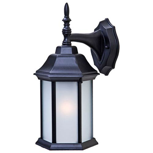 Acclaim Lighting Craftsman 2 Matte Black Wall Lantern