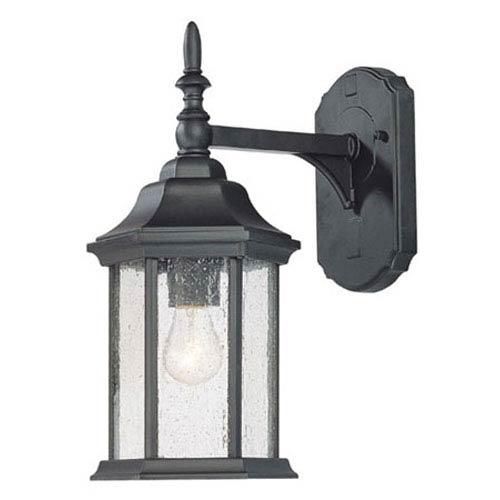 Acclaim Lighting Craftsman Matte Black Wall Lantern