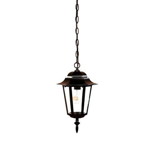 Acclaim Lighting Camelot Matte Black Hanging Lantern