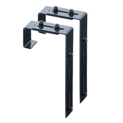 Black Adjustable Deck RailBracket