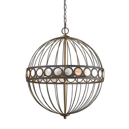 Acclaim Lighting Aria Oil Rubbed Bronze Six-Light Pendant