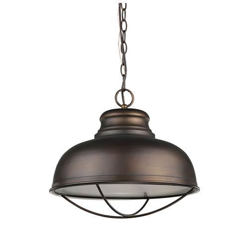 Acclaim Lighting Ansen Oil Rubbed Bronze One-Light Pendant