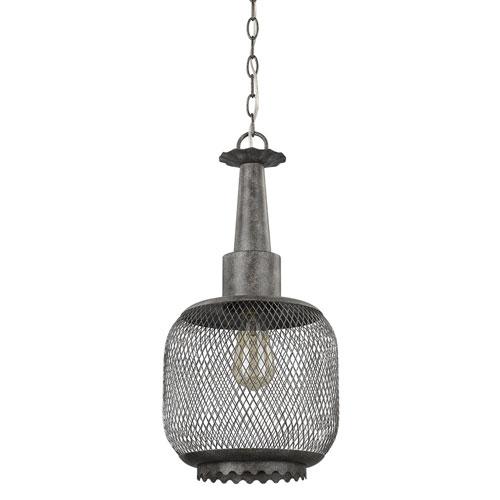 Hazel Ash 10-Inch One-Light Mini Pendant