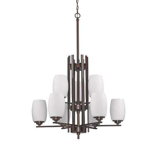 Acclaim Lighting Sophia Oil Rubbed Bronze Nine-Light Chandelier