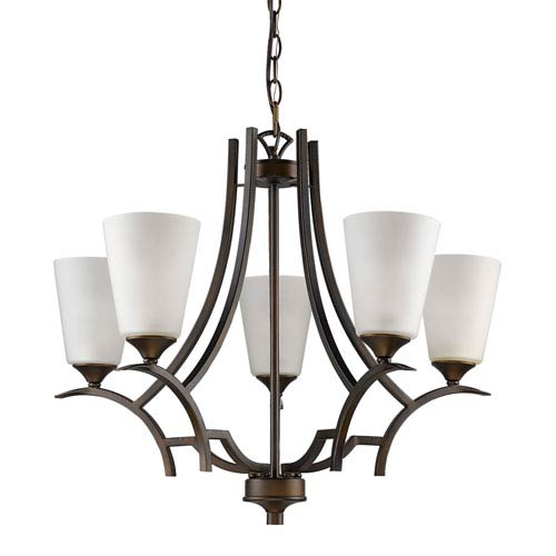 Acclaim Lighting Zoey Oil Rubbed Bronze Five-Light Chandelier