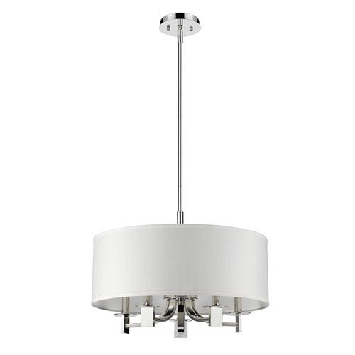Acclaim Lighting Andrea Polished Nickel Five-Light Pendant
