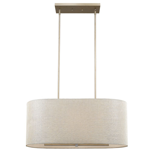 Daria Washed Gold 32-Inch Six-Light Pendant