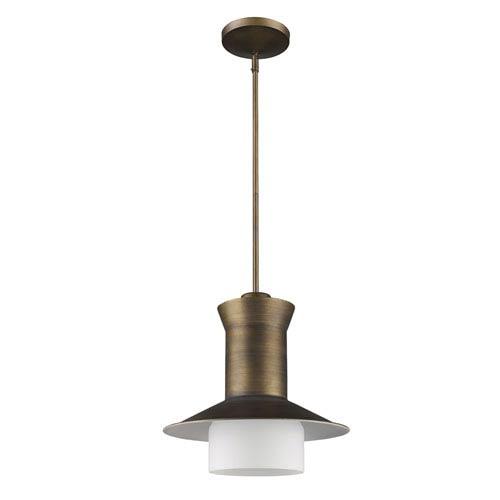 Acclaim Lighting Greta Raw Brass One-Light Pendant