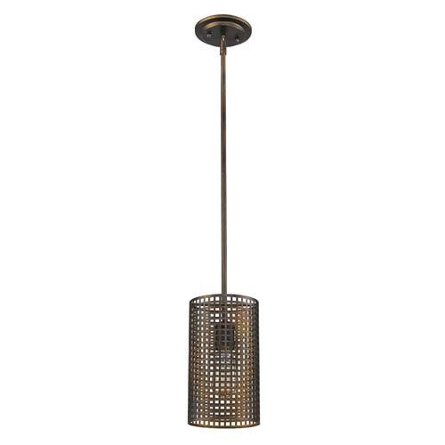 Acclaim Lighting Loft Oil Rubbed Bronze Six-Inch One-Light Mini Pendant