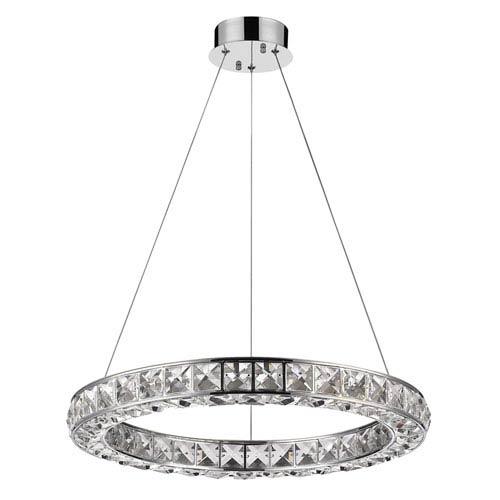 Acclaim Lighting Noemi Chrome 23-Inch LED Pendant