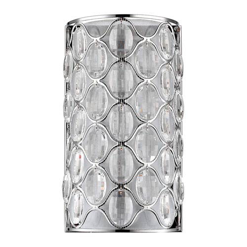 Acclaim Lighting Isabella Polished Nickel Two-Light Wall Sconce