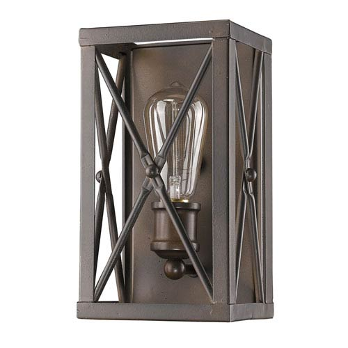 Brooklyn Oil Rubbed Bronze One-Light Wall Sconce