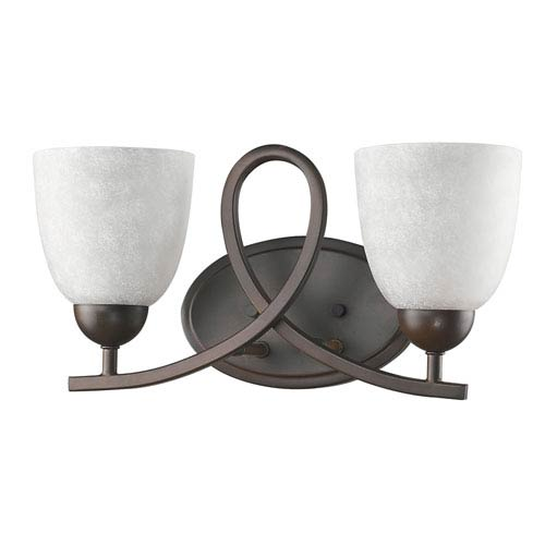 Acclaim Lighting Toulouse Oil Rubbed Bronze Two-Light Bath Vanity