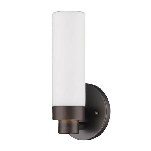 Acclaim Lighting Valmont Oil Rubbed Bronze One Light Bath Sconce