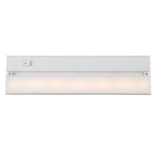White 14-Inch LED Undercabinet Light