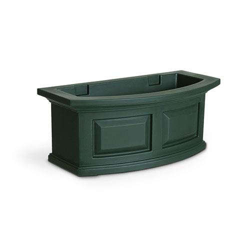 Nantucket Green 24-Inch Window Box