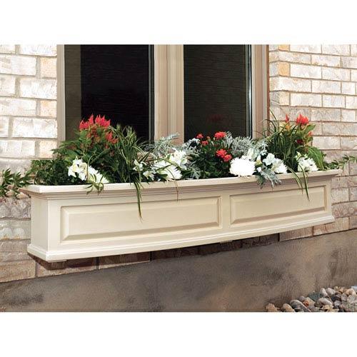 Mayne Nantucket Clay 60-Inch Window Box