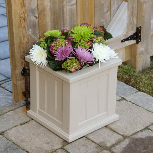 Cape Cod Clay Patio Planter 14 x 14 Inch