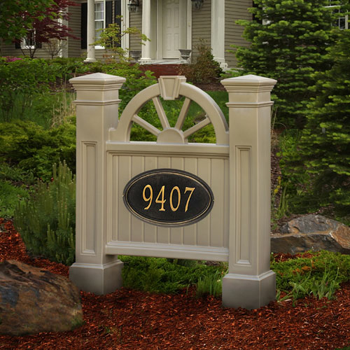 Winchester Clay Address Sign