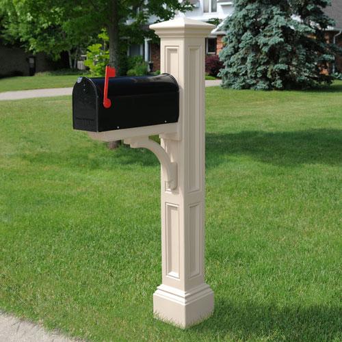 Mayne Charleston Clay Mail Post