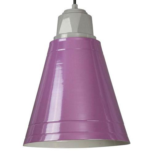 ANP Lighting Retropolitan Lilac One-Light Outdoor Pendant