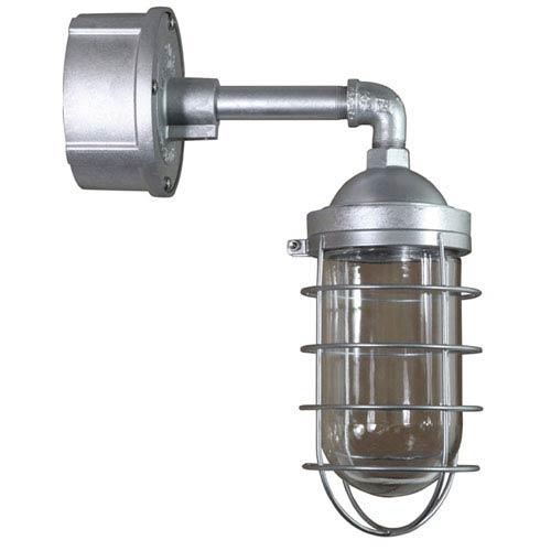 ANP Lighting Retropolitan Galvanized 5.5-Inch Height One-Light Outdoor Wall Sconce