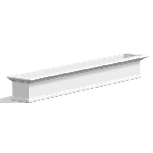Yorkshire White 84-Inch Window Box