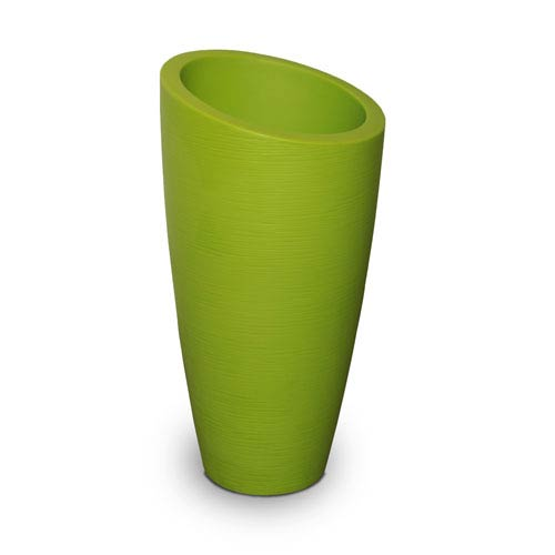 Modesto 32in Tall Planter - Macaw Green