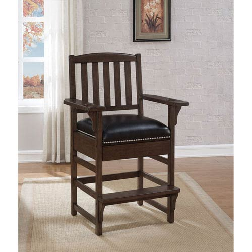 King Pewter Chair