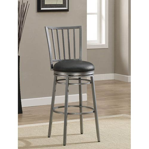 American Heritage Billiards Easton 30 Inch Swivel Bar Stool 111113