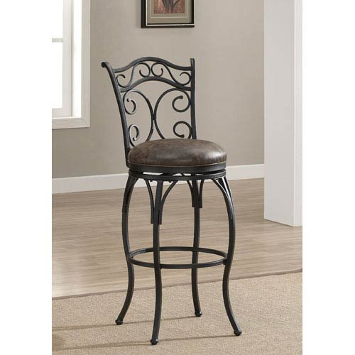American Heritage Billiards Solana 26 Inch Swivel Bar Stool 111128