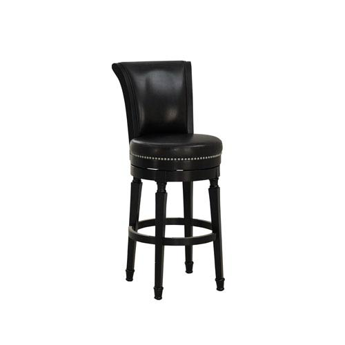 Chelsea Black Counter Height Stool in Black