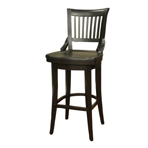 American Heritage Billiards Liberty Black Counter Stool