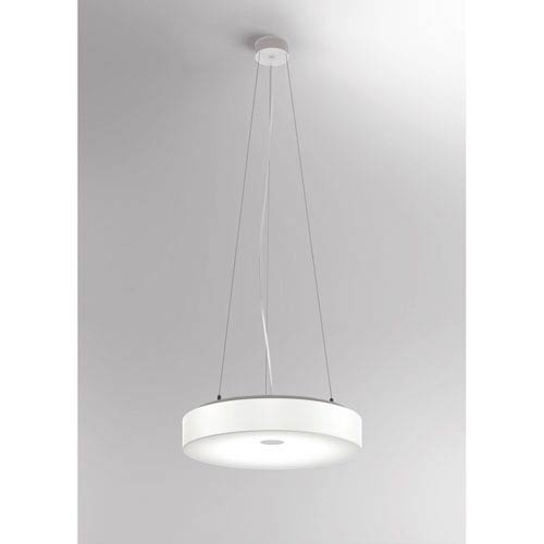 White Belt White 21-Inch LED Pendant