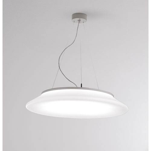 Rotula White 25-Inch LED Pendant