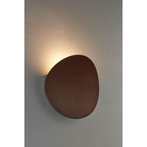 Lunaro Bronze 8-Inch Wall Sconce