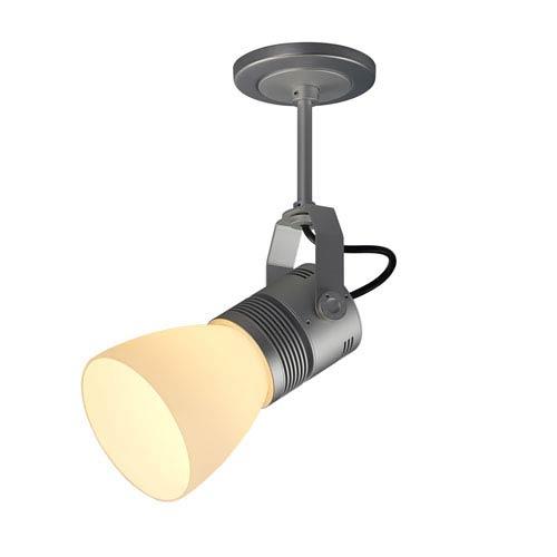 Z15 Matte Chrome 1600 Lumen LED Spotlight with White Shade