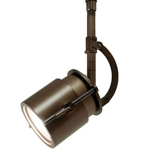 Bronze One-Light Low Voltage Track Spotlight