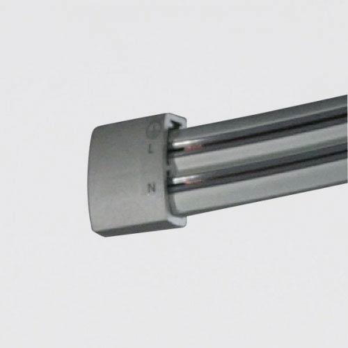 Bruck Lighting Systems Zonyx Matte Chrome 6 Ft. Track Section