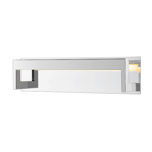 Linc Chrome 20-Inch LED Bath Vanity with Frosted Glass