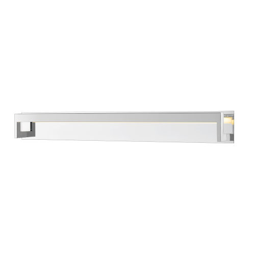 Linc Chrome 48-Inch LED Bath Vanity with Frosted Glass