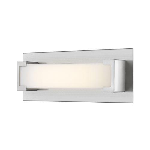 Elara Brushed Nickel 13-Inch LED Bath Vanity