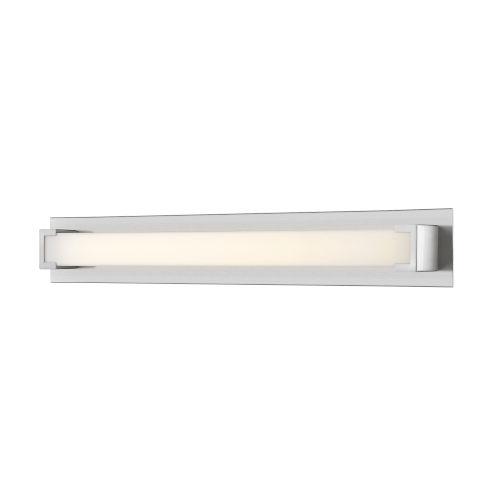 Elara Brushed Nickel 39-Inch LED Bath Vanity